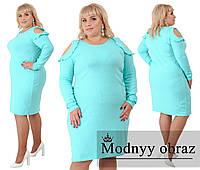 Женское нарядное платье №269 в расцветках (р.56-62), фото 1