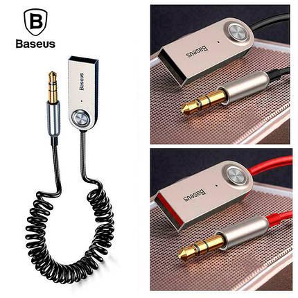 Аудио Bluetooth 5.0 приемнк Baseus BA01 Wireless Bluetooth Transmitter с USB и 3.5мм AUX разьемами, фото 2