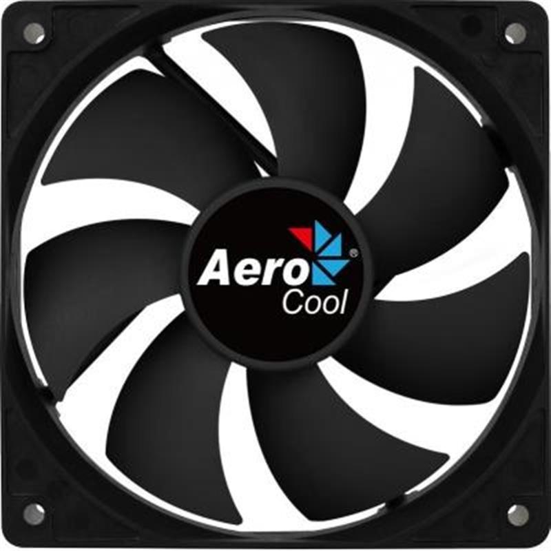 Вентилятор Aerocool Force 8 Black Molex, 80х80х25 мм