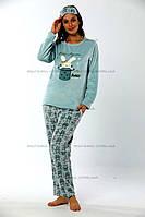 Уютная женская пижама из нежнейшего флиса