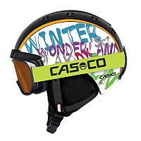 Горнолыжный детский шлем Casco mini pro2 winterwonderland, 52-56 (MD)
