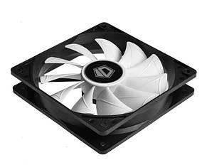Вентилятор ID-Cooling XF-12025-SD-W, 120x120x25мм, 4-pin, черный, фото 2