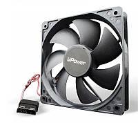 Вентилятор UPower UP12025SB415 120мм, molex, корпусный вентилятор, для корпуса