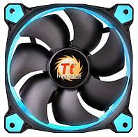 Вентилятор Thermaltake Riing 14 LED Blue (CL-F039-PL14BU-A), 140х140х25 мм, 3pin, черный