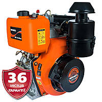 Двигатель дизель, 10,5 л.с., шпонка, электростартер, Vitals DM 10.5kne (Латвия)