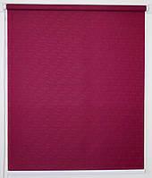 Рулонная штора 900*1500 Ткань Лён 7435 Фуксия, фото 1