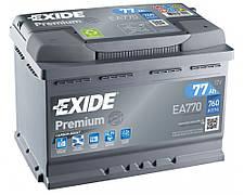 EXIDE 6СТ-77 АзЕ PREMIUM EA770 Автомобильный аккумулятор