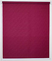Рулонная штора 1400*1500 Ткань Лён 7435 Фуксия, фото 1