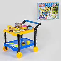 Игровой набор Сладости 36778-90, 38 элементов, сервировочный столик на колесиках