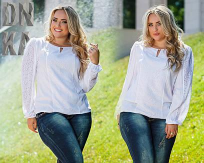Женская блузка №26-в759/1 БАТАЛ