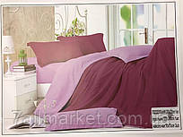 """Комплект постельного белья сатин евро размер """"SOFT"""" купить недорого от прямого поставщика"""