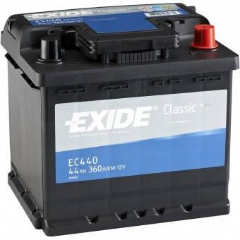 EXIDE 6СТ-44 АзЕ CLASSIC EC440 Автомобильный аккумулятор, фото 2