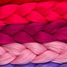 Канекалон цветной, нежно розовый 💗, фото 8