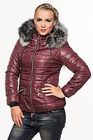 Женская короткая зимняя куртка, стеганая., фото 1