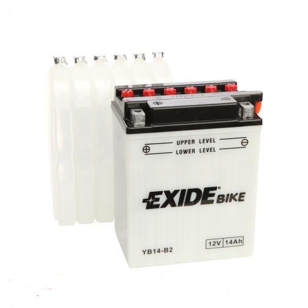 EXIDE 6СТ-14Аз (EB14-B2) Мото аккумулятор