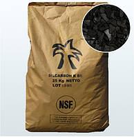 Активированный уголь Silcarbon K835  для очистки воды уголь на основе коксов, 25кг (50л)