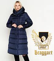 Воздуховик Braggart Angel's Fluff 31515 | Зимняя куртка женская синяя, фото 1