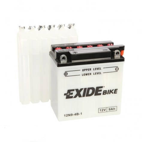 EXIDE 6СТ-9Аз (12N9-4B-1) Мото аккумулятор, фото 2
