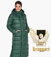 Воздуховик Braggart Angel's Fluff 31007   Зимняя женская куртка нефритовая, фото 1