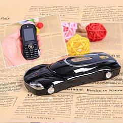 Мобильный телефон машинка Ferrari F1 Black 2SIM 1400 мАч