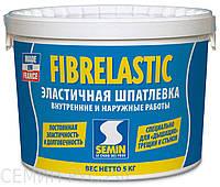 ШПАКЛІВКА ДЛЯ ТРІЩИН FIBRELASTIC,Semin,1.5 кг.
