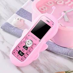 Мобильный телефон Пчелка Pink 2SIM мини телефон