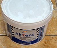 Прочная полуглянцевая водостойкая акриловая краска  Akzent Eskaro 2,7 л