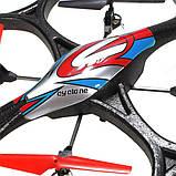 Квадрокоптер с камерой  WL Toys V333 Cyclone 2, фото 6