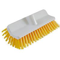 Щітка для чистки дворівневої форми середньої жосткості жовта FALCON 9010G