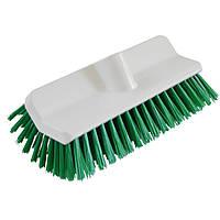 Щітка для чистки дворівневої форми середньої жосткості зелена FALCON 9010GR