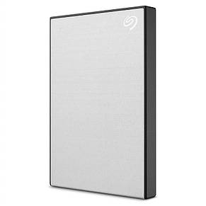 "Накопитель внешний HDD 2.5"" USB 2.0TB Seagate Backup Plus Slim Silver (STHN2000401), фото 2"