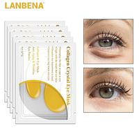 Коллагеновые патчи LANBENA по уходу за кожей вокруг глаз COLLAGEN CRYSTAL 1 пара