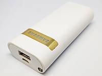 Зарядное устройство PowerBank 6000 mAh  Белый