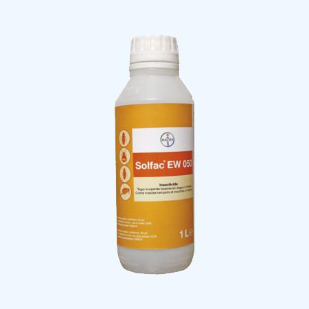 Сольфак EW50 10 мл Bayer (Німеччина) сучасний високоефективний засіб від мух, комарів, тарганів і кліщів.