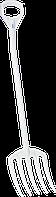 Гігієнічні поліпропіленові вила 1275 мм VIKAN 56905