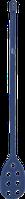 Весло-мішалка перфорована детектуюча діам. 31 мм 1200 мм VIKAN 701299