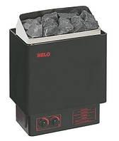 Helo CUP 45D черная - Настенная электрокаменка (4,5 kW, 3-6 м. куб., 15 кг камней)