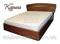 """Кровать с подъёмным механизмом двуспальная деревянная """"Карина"""" kr.kn7.1"""
