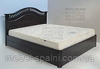 """Кровать с подъёмным механизмом двуспальная деревянная """"Глория"""" kr.gl7.1"""
