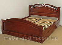 """Кровать с подъёмным механизмом двуспальная деревянная """"Глория"""" kr.gl7.3"""