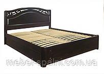 """Кровать с подъёмным механизмом двуспальная деревянная """"Марго"""" kr.mg7.1"""