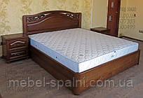 """Кровать с подъёмным механизмом двуспальная деревянная """"Марго"""" kr.mg7.2"""