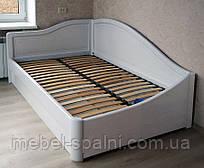 """Кровать с подъемным механизмом деревянная полуторная """"Анна+"""" kr.an7.1"""