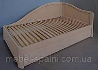 """Кровать с подъемным механизмом деревянная полуторная """"Анна"""" kr.an7.2"""