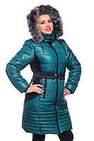 Зимняя куртка женская, удлиненная., фото 1