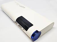 Power Bank Samsung 2 USB (+ 1А 2А) 30000 мАч Білий