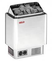 Helo CUP 60D хром - Настенная электрокаменка (6 kW, 5-9 м. куб., 23 кг камней)