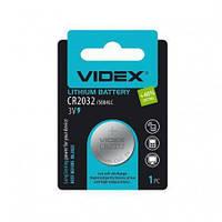 Набор батареек Videx для глюкометров Акку Чек Перформа, Нано, Актив,Он Колл Плюс, 4 шт.