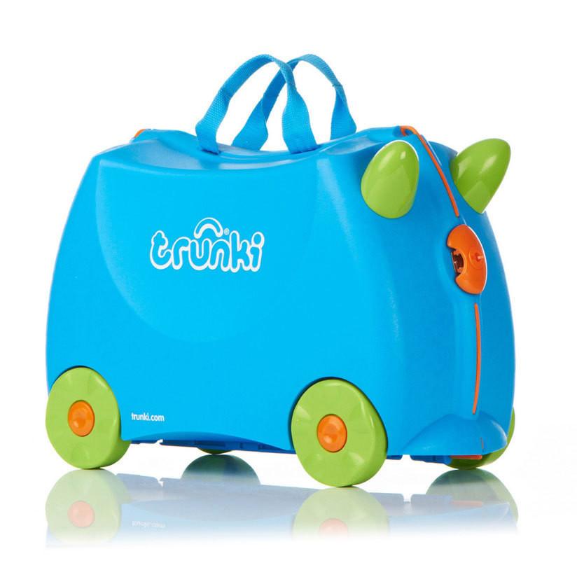 Детский дорожный чемоданчик TRUNKI TERRANCE