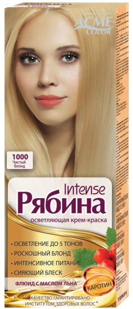 "Крем-краска Acme Рябина Intense ""№1000 Чистый блонд"""